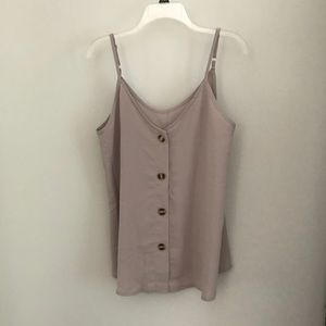 Tops - Strappy Loose Fitted Tank Top